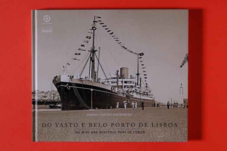 capa do livro sobre Porto de Lisboa