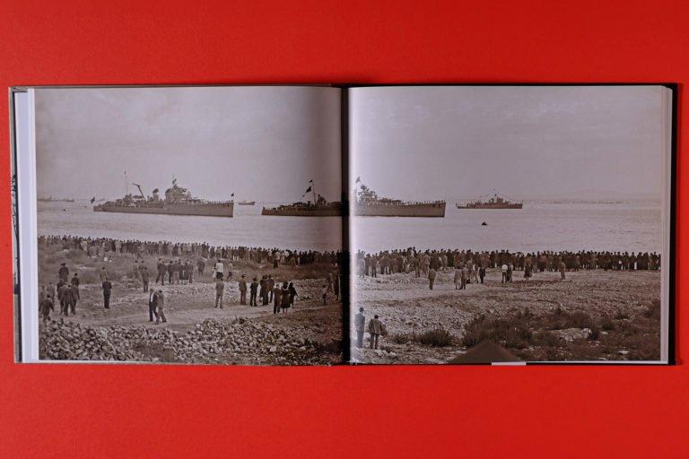 interior do livro sobre Porto de Lisboa