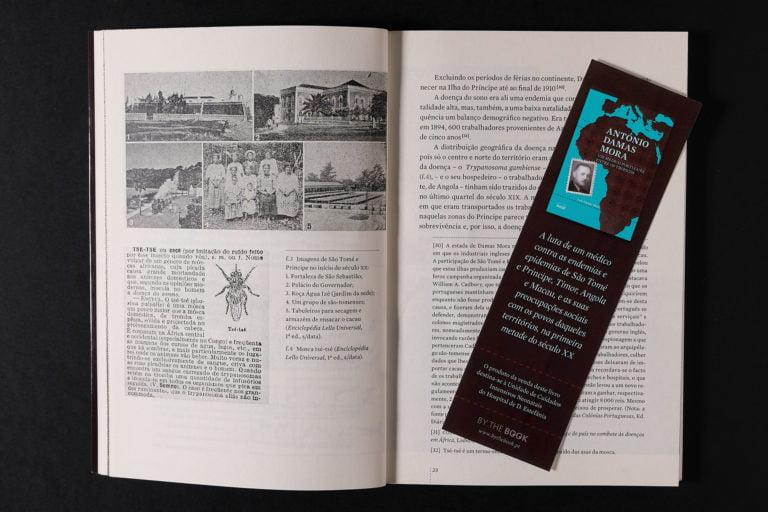 interior do livro Antonio Damas Mora e marcador