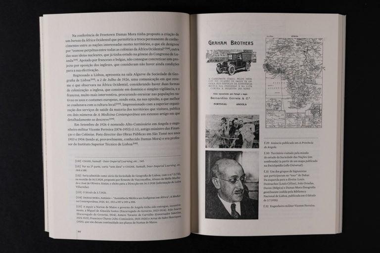 interior do livro Antonio Damas Mora