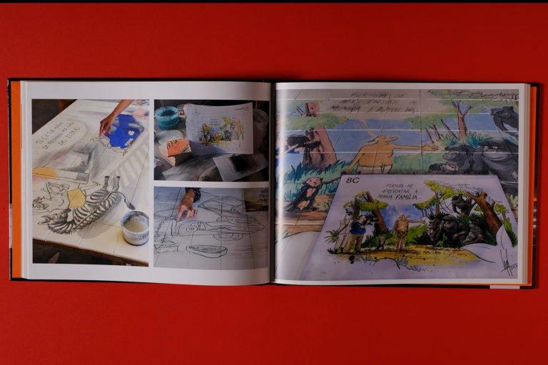 interior do livro Arte de Augusto Cid