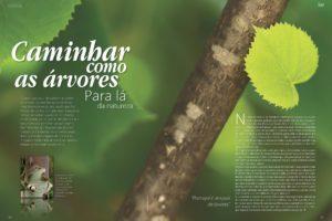 """""""Caminhar como as árvores"""", Rosa Cordeiro, Revista Exclusiva nº21, Primavera 201…"""
