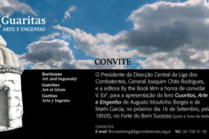 """Convite Apresentação """"Guaritas, Arte e Engenho""""!"""