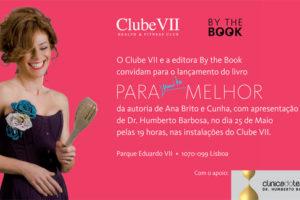 Convite para o lançamento do livro de Ana Brito e Cunha