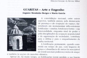 """""""Guaritas, Arte e Engenho"""" na Revista Militar!"""