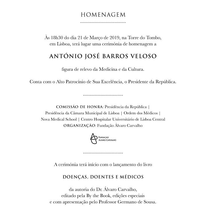 Homenagem ao Dr. Barros Veloso