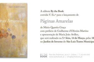 """Lançamento do livro """"Páginas Amarelas"""""""