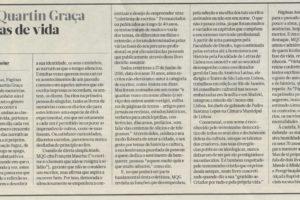 """""""Mário Quartin Graça, Histórias de Vida"""" – Jornal de Letras, Artes e Ideias"""