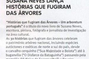 """Mais uma notícia sobre """"Histórias que fugiram das árvores – Um arboretum portugu…"""