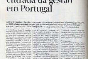 Na revista Exame deste mês está publicado um artigo sobre António de Magalhães R…