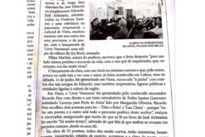 Notícia no Jornal da Beira. #printisnotdead #themostbeautifulbooks #bookaddict…