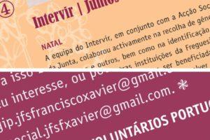 Novo boletim nas casas de São Francisco Xavier!