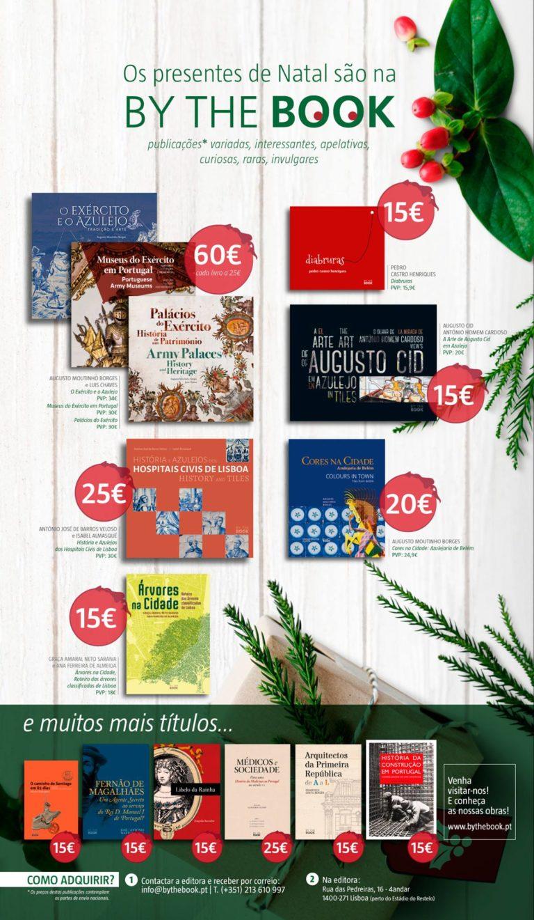 Os presentes de Natal são…  na By the Book!