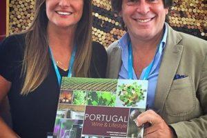 """Rita Soares promove com imenso sucesso o livro """"Portugal Wine & Lifestyle"""" e…"""