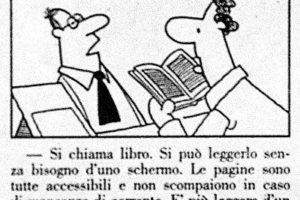 Um livro… un omaggio, buona serata!—com Alberto Bucciero.