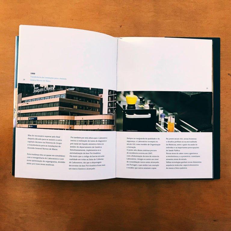 interior do livro comemorativo Grupo Joaquim Chaves