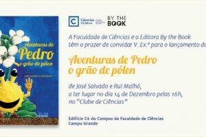 """""""Aventuras do Pedro o grão de pólen"""" é este o título de mais um livro …"""