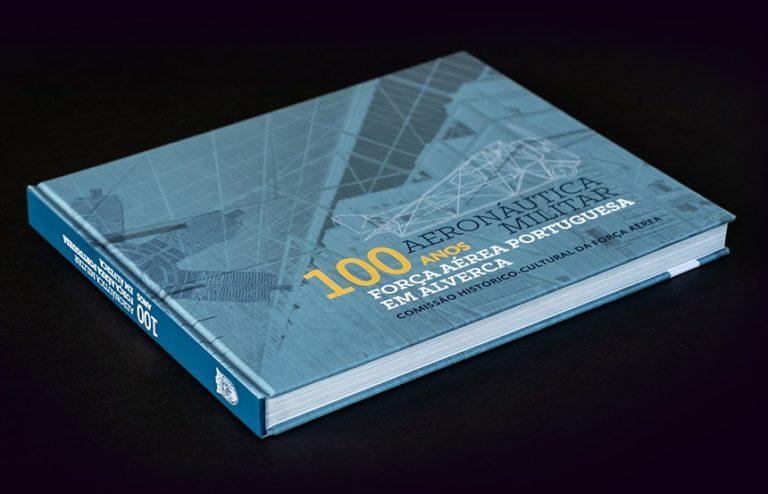 """O livro """"100 Anos de Aeronáutica Militar Força Aérea Portuguesa em Alverca&…"""