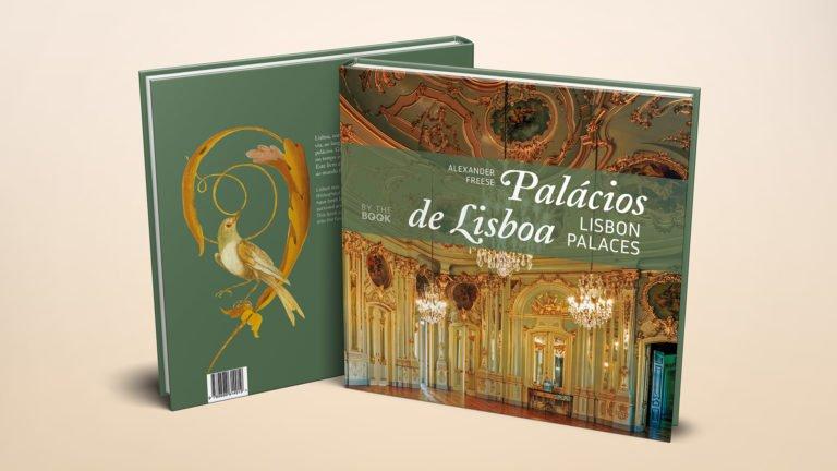 capa e contracapa do livro Palacios de Lisboa