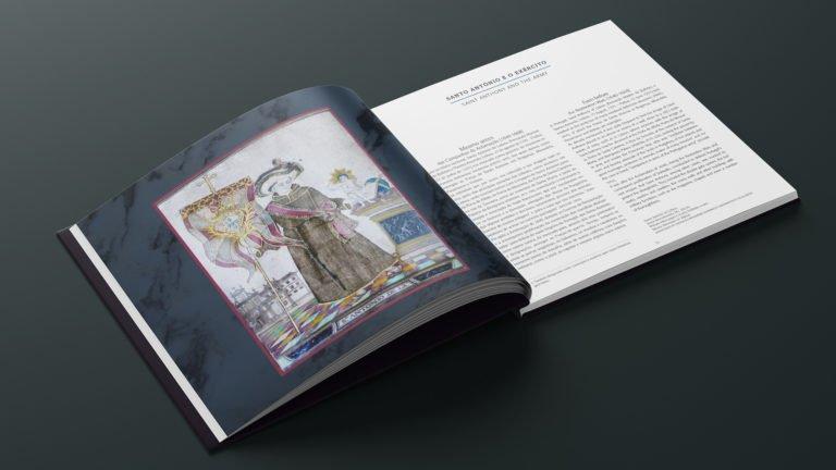 entrada de capitulo do livro Santo Antonio e o Exercito