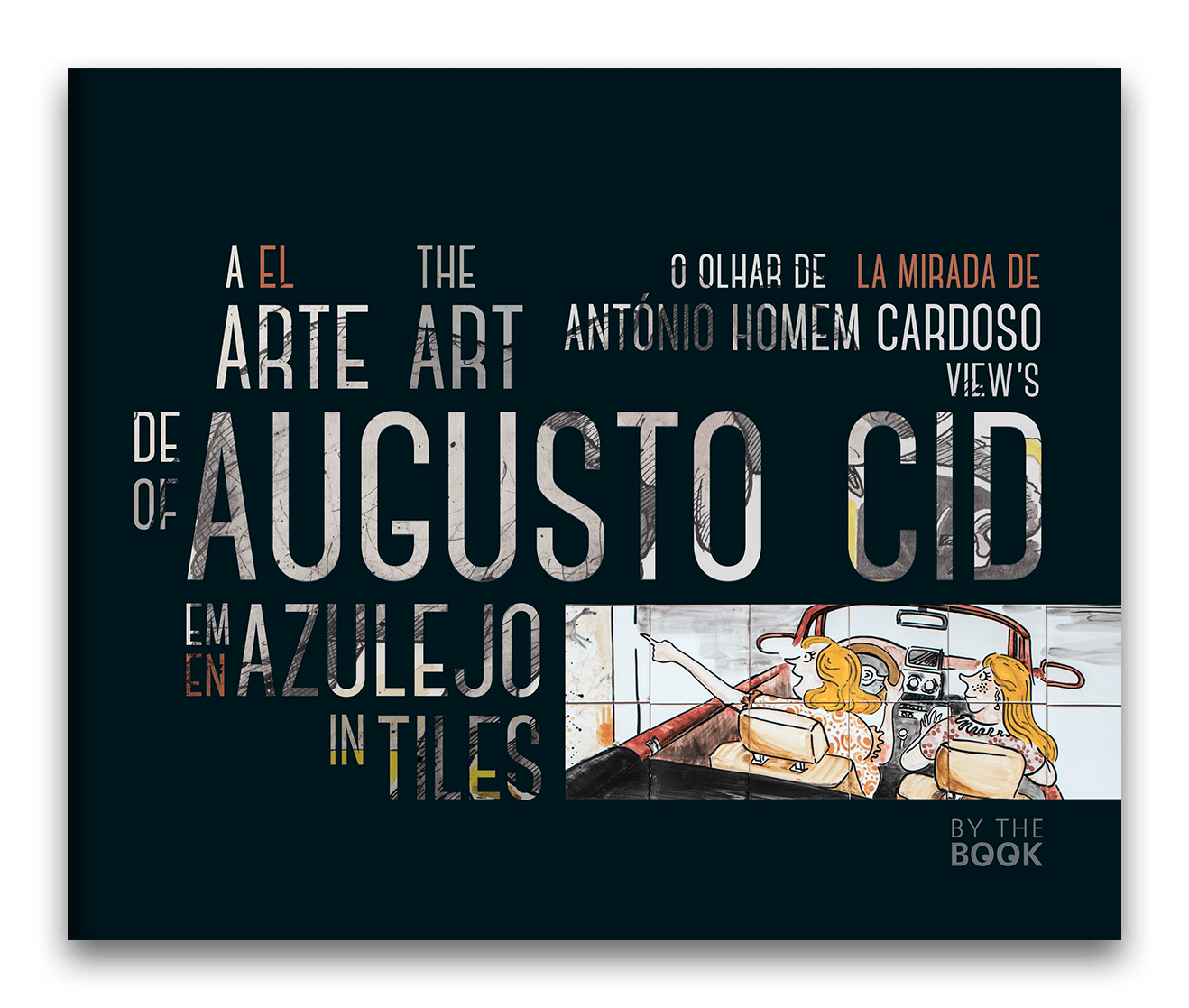 A Arte de Augusto Cid em azulejo