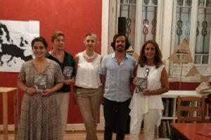 Com o nosso autor Bernardo no dia do lançamento de «Passeio Moderno»