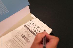 """Ontem, estivemos no Grémio Literário para o lançamento do livro """"Francisco Teixe…"""
