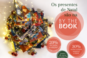 Os presentes de Natal são na By the Book!