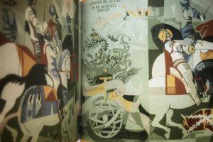Tapeçaria de Portalegre alusiva à Batalha das Linhas de Elvas (esta encontra-se…