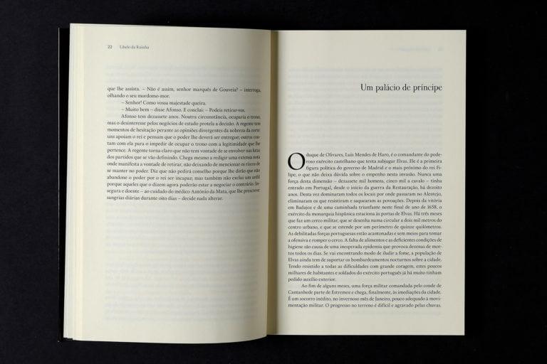 entrada de capitulo do livro Libelo da Rainha