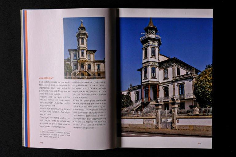interior do livro Arquitectos da Primeira Republica M a Z