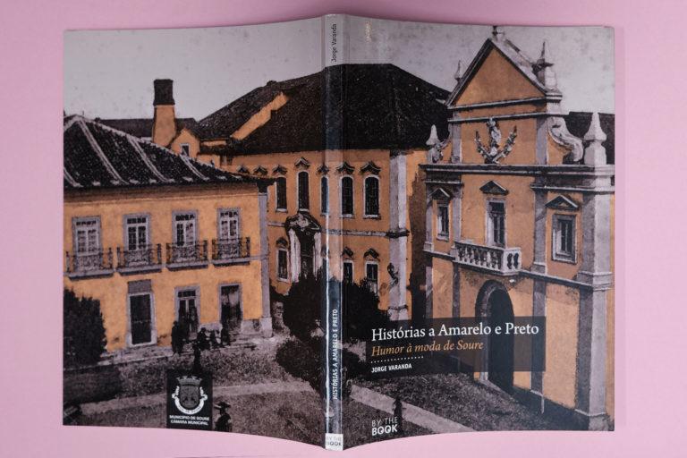 capa Histórias a Amarelo e Preto