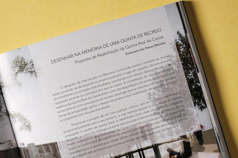pormenor Memória, Arquitectura e Projecto