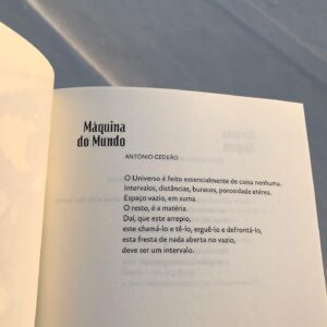 Neste Dia Nacional da Cultura Científica relembramos um grande poeta português: ...